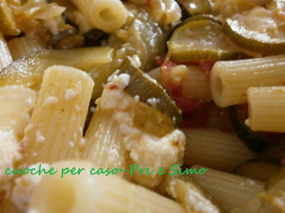 Pasta zucchine