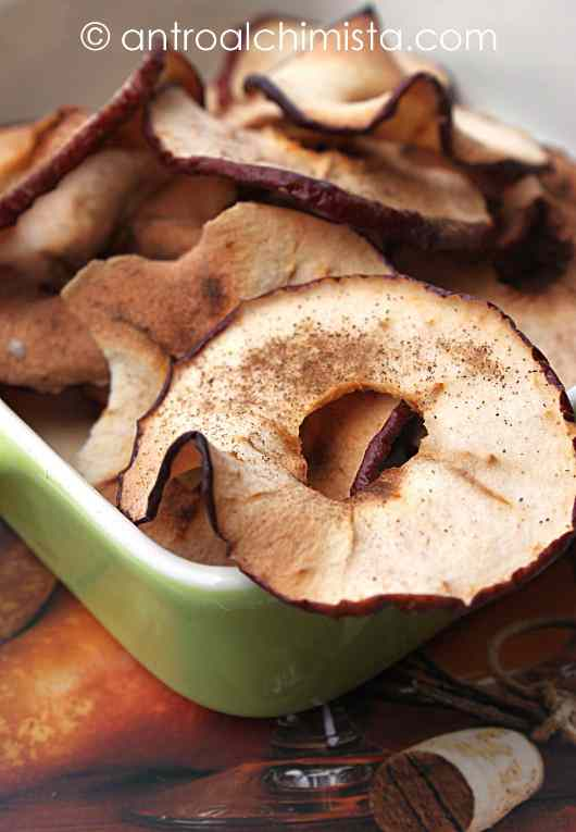 Ricetta: Chips di Mela alla Cannella
