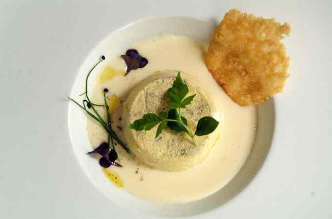 Ricetta: Antica tartra delle langhe alle erbe aromatiche - glutenfree dello chef marco rossi della mugnaia di ivrea