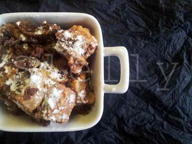 Ricetta: Tiramisu in crisi - zuppa dolce di pane raffermo con zabaione rustico e crema povera di latte al caramello