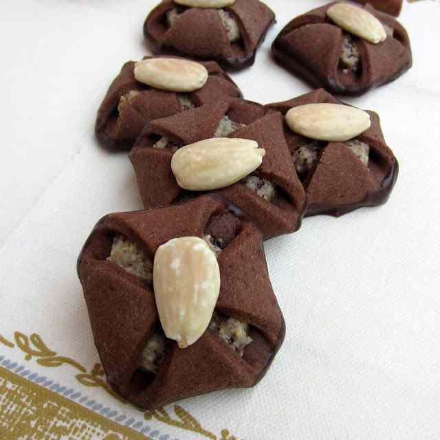 Ricetta: Fagottini cioccolato mandorle e marzapane