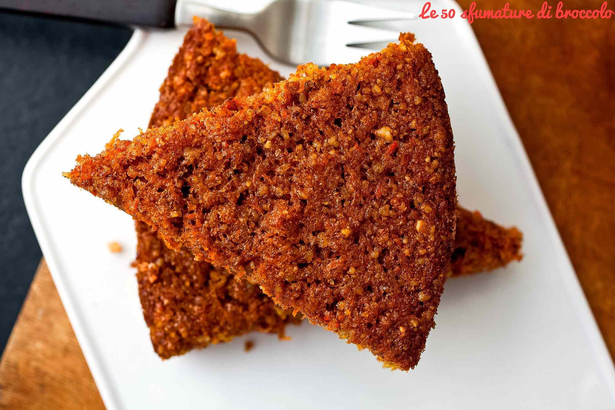 Ricetta: Torta integrale alle carote