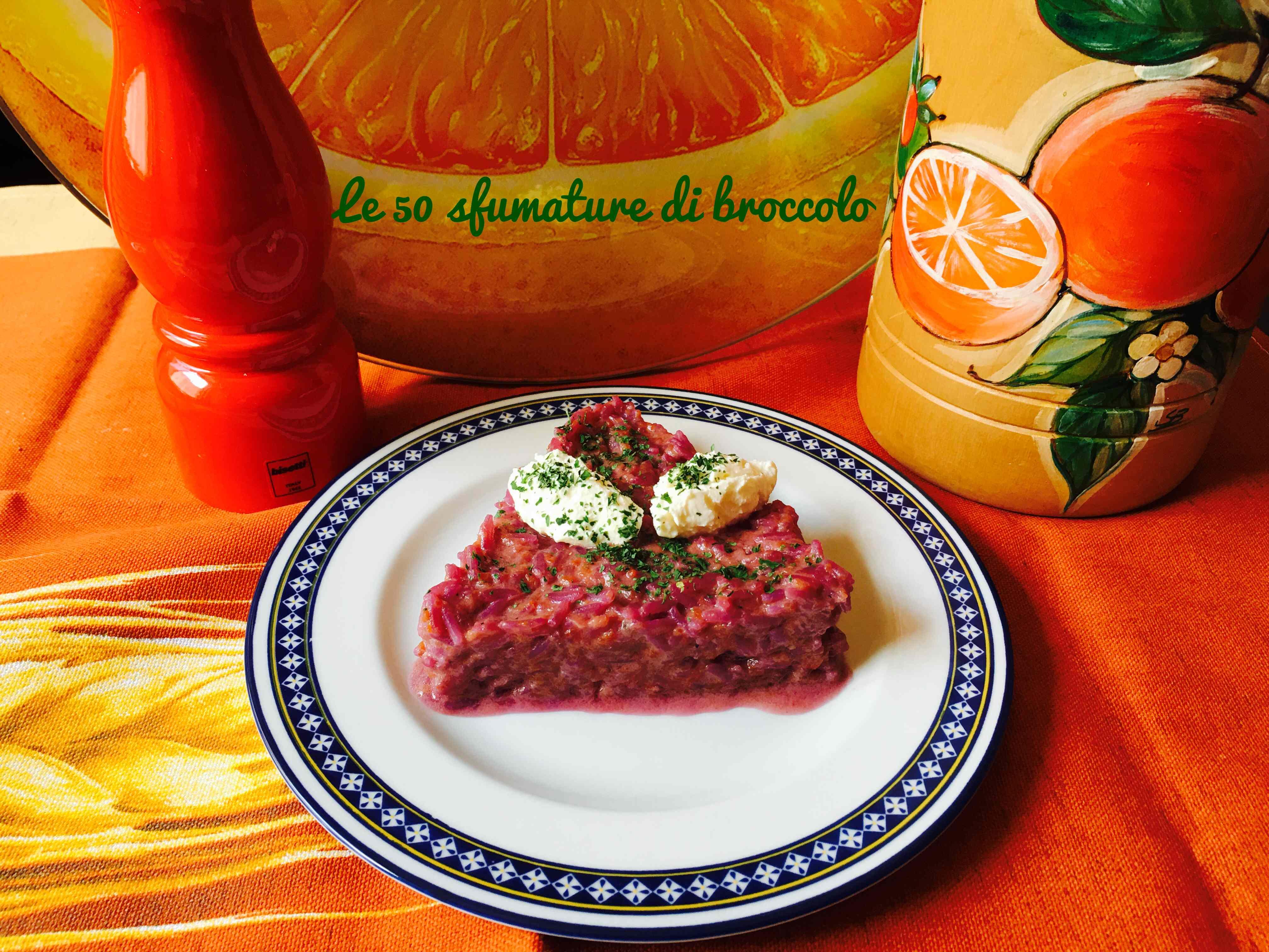 Ricetta: Risotto con carote viola e quenelle di robiola