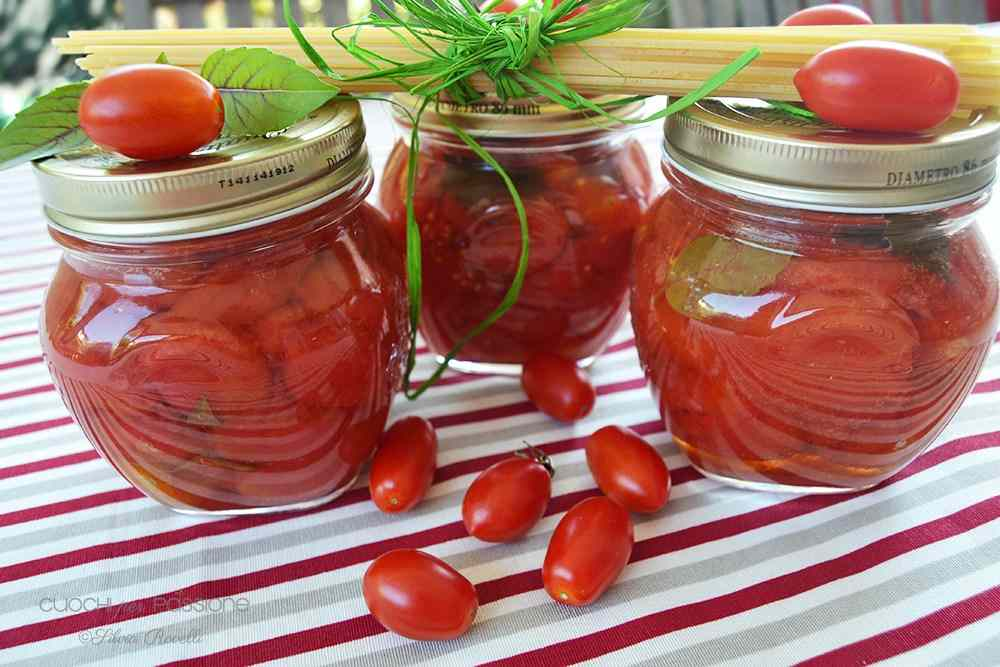 Pomodori pelati san marzano e datterini rossi