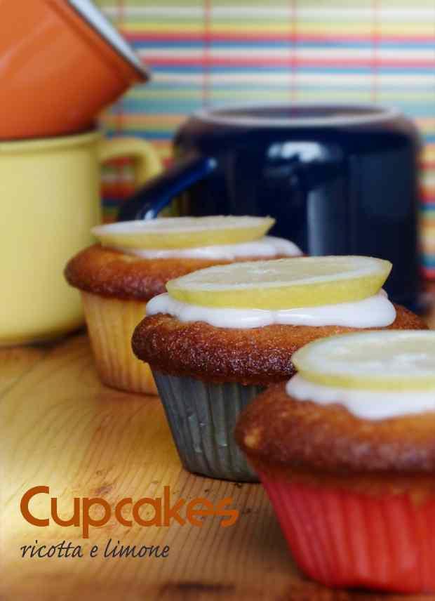 Ricetta: Cupcakes ricotta e limone