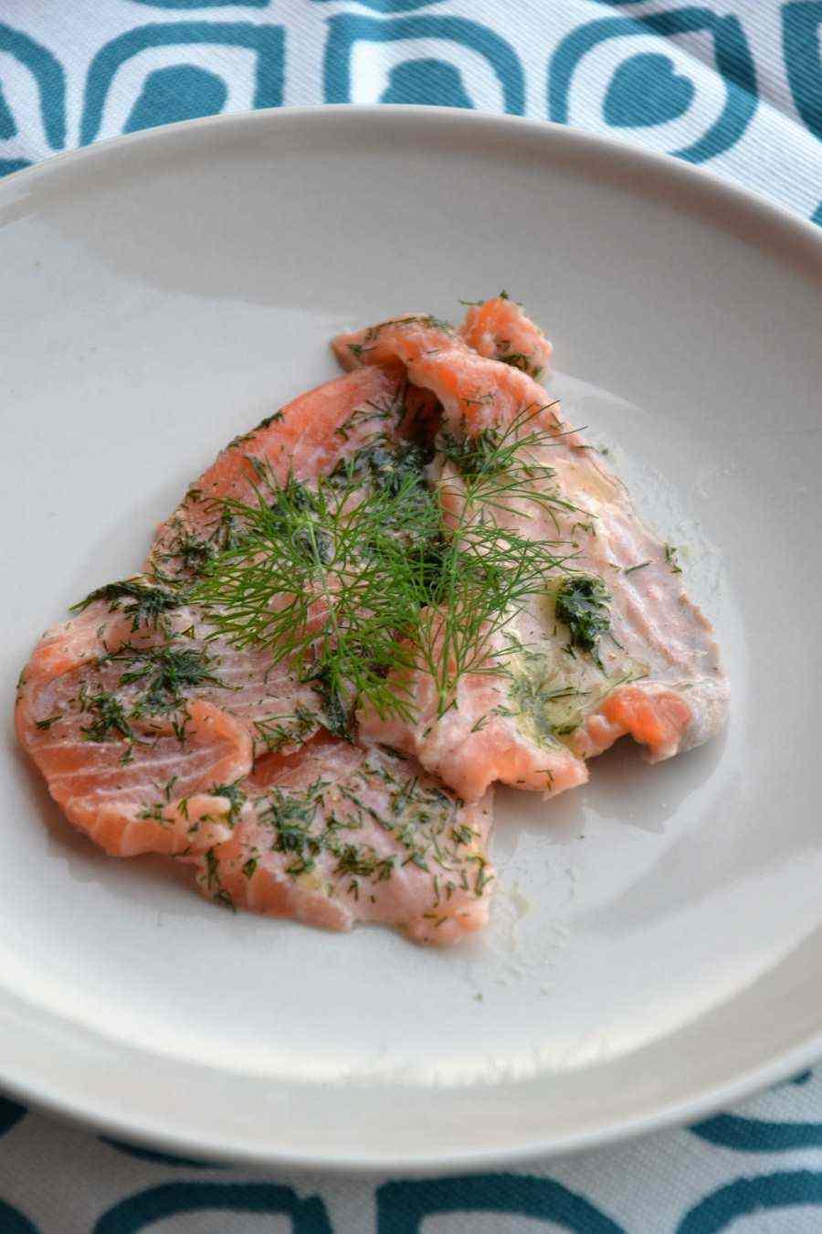 Ricetta: Gravlax di salmone
