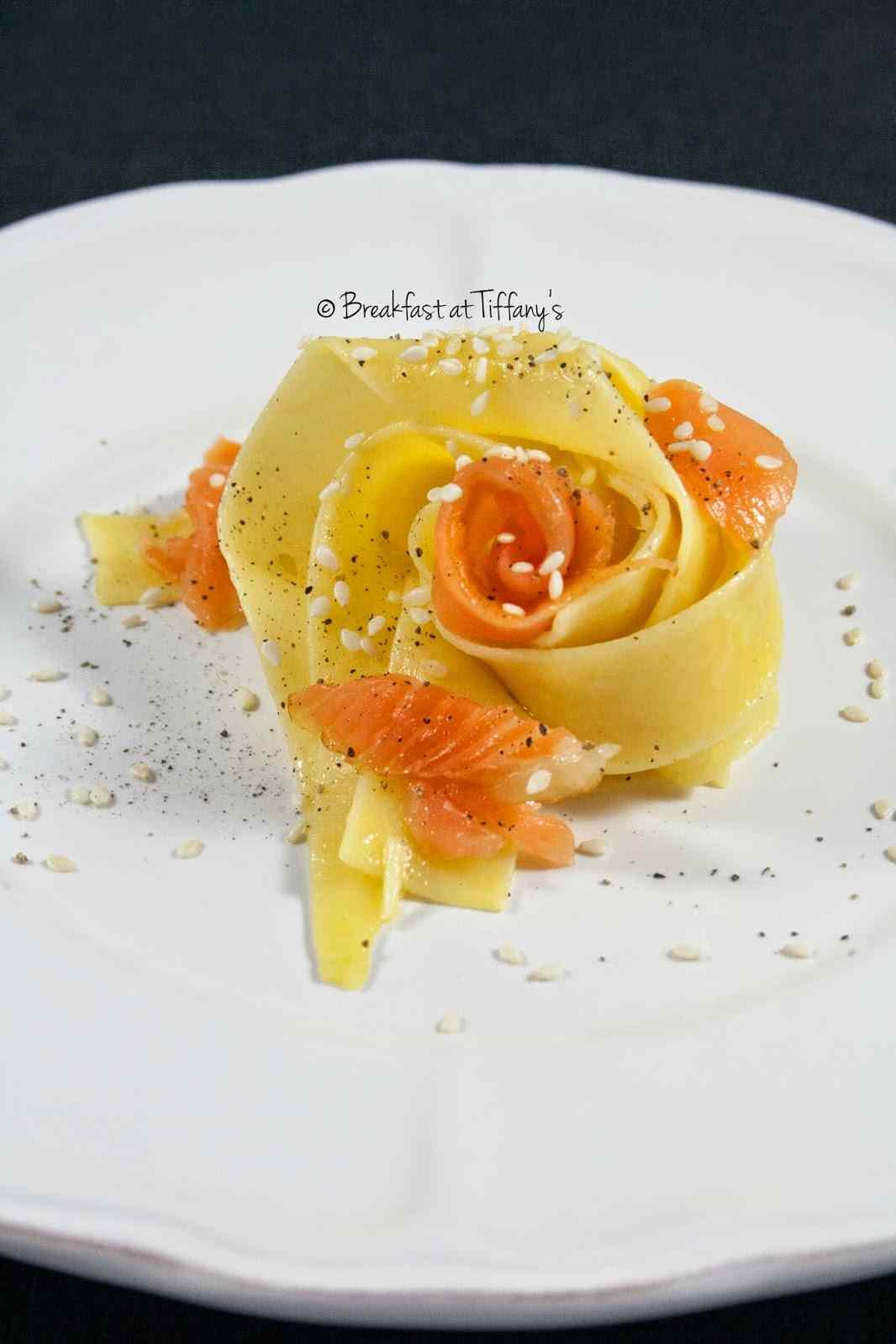 Ricetta: Pasta panna e salmone / pasta with cooking cream and smoked salmon
