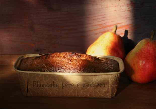 Ricetta: Plumcake pere e zenzero