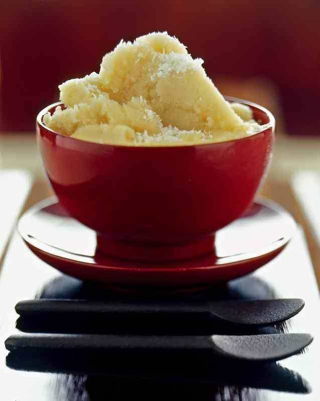 Ricetta: Sorbetto al the verde e cocco / green tea and coconut sorbet