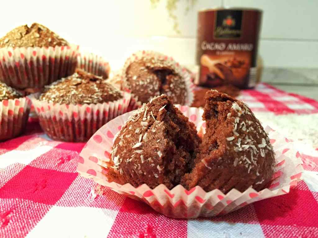 Ricetta: Cupcakes con cacao e cocco