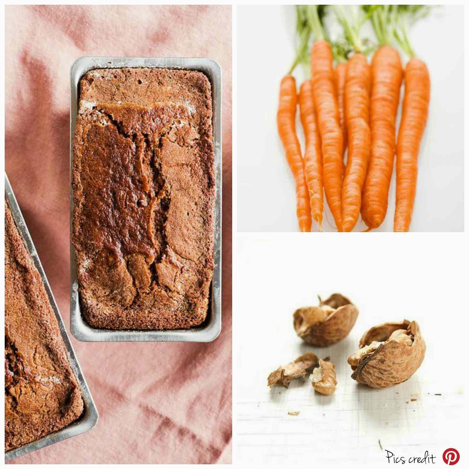 Ricetta: Torta morbida carote e noci / soft carrot and nuts cake recipe