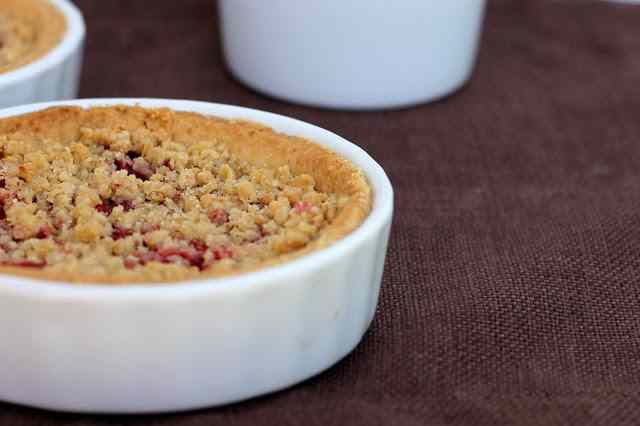 Ricetta: Crumbles alle fragole