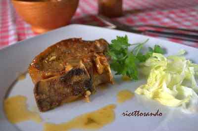 Ricetta: Costatine di manzo in salsa di vino bianco