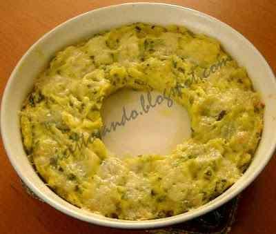 Ricetta: Sformato delicato di patate e zucchine