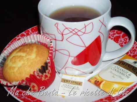 Ricetta: Muffin arancia e cannella
