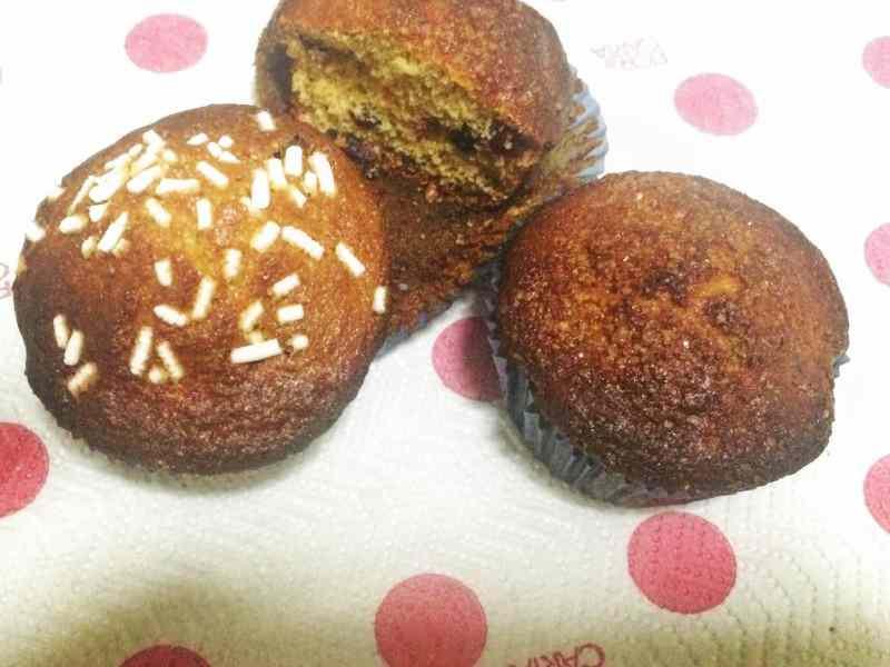 Ricetta: Muffin integrali al miele con mirtilli rossi e neri