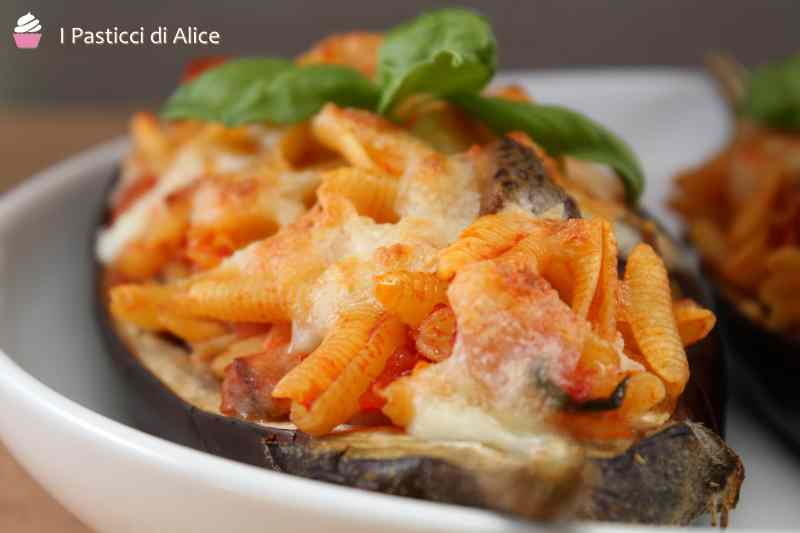Ricetta: Pasta stuffed aubergine