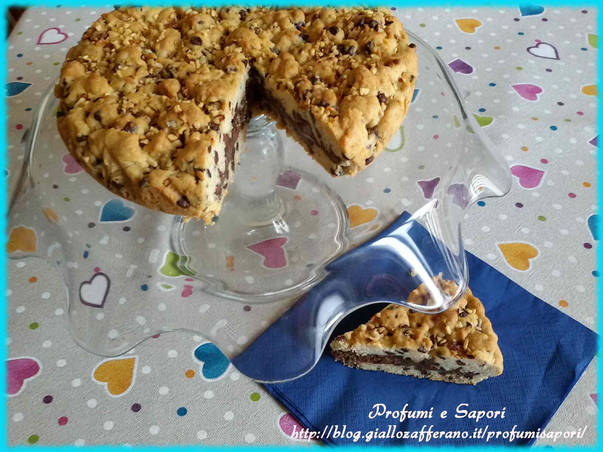 Ricetta: Torta cookies alla nutella
