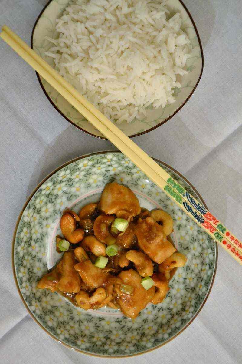 Ricetta: Pollo con anacardi