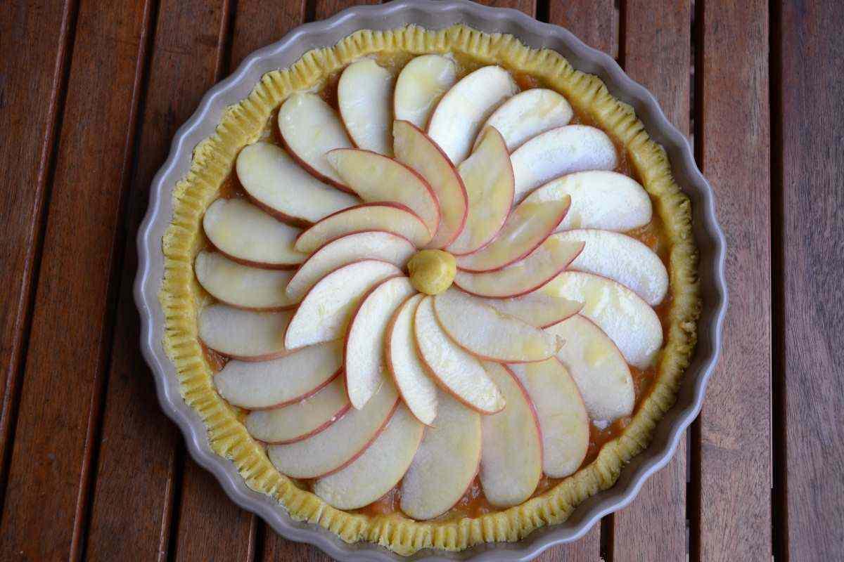 Ricetta: Crostata di mele e vaniglia