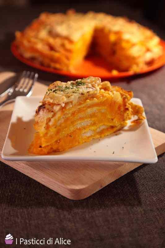 Ricetta: Torta di Crepes con la Zucca
