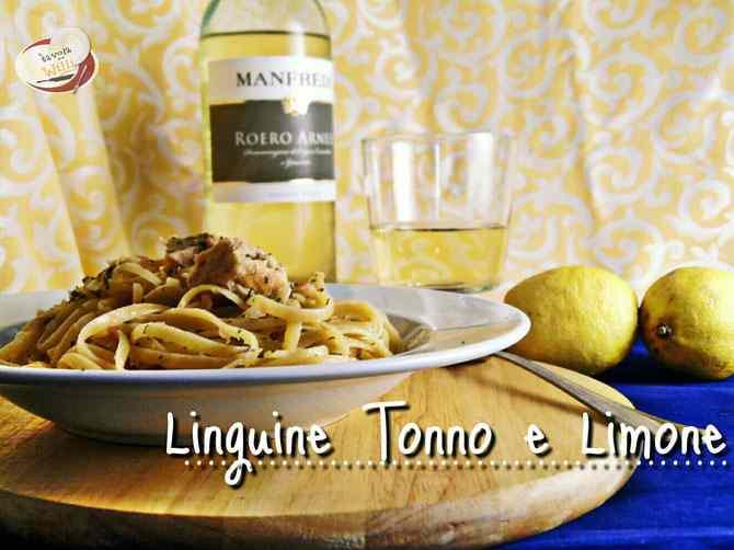 Linguine tonno&limone