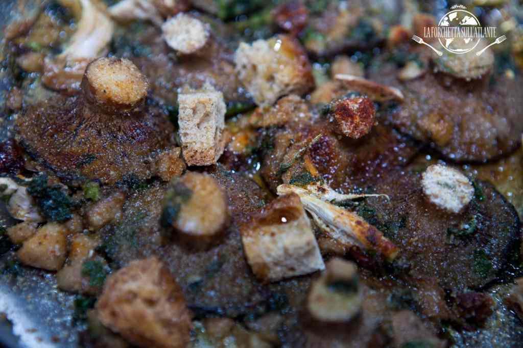 Funghi cardoncelli dorati al forno
