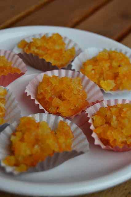 Ricetta: Dadolata di arance ghiacciate.......