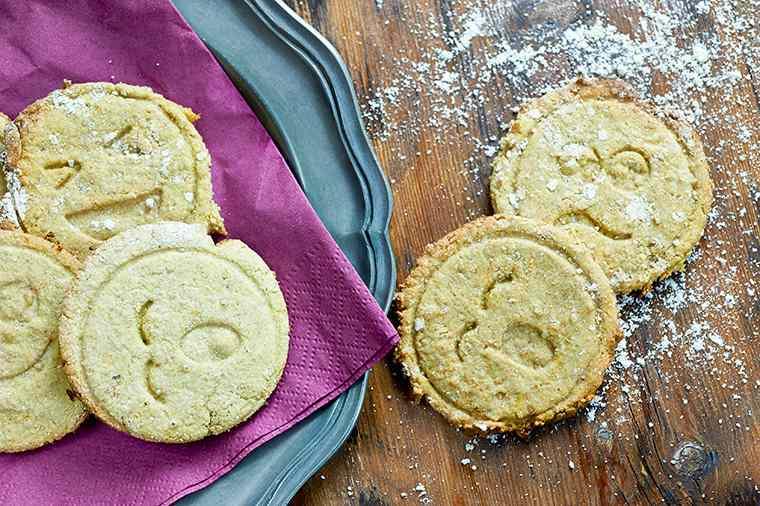 Biscotti alla zucca e liquirizia