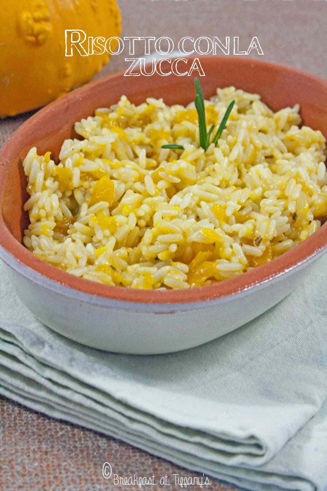 Ricetta: Risotto con la zucca / pumpkin risotto recipe
