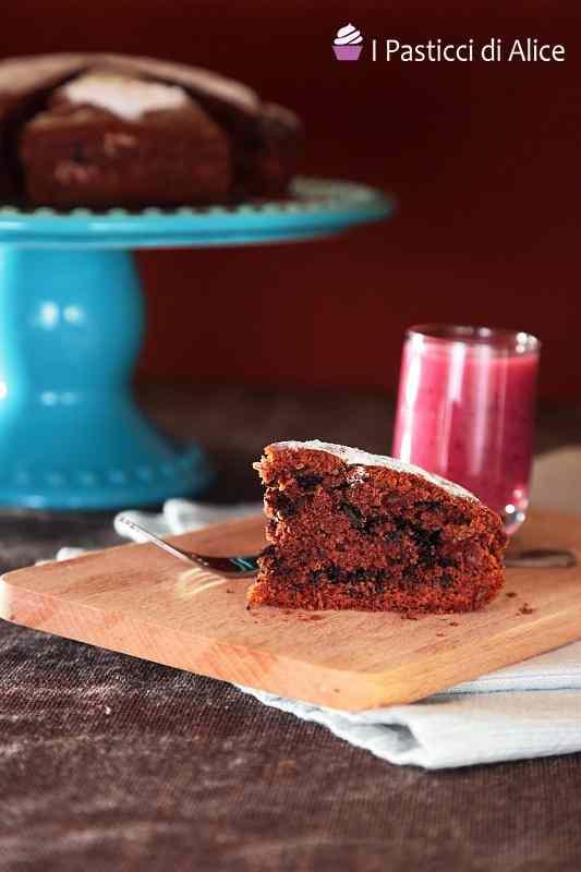 Ricetta: Torta al cacao e cioccolato