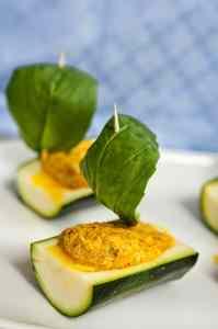 Ricetta: Barchette di zucchina allo zafferano