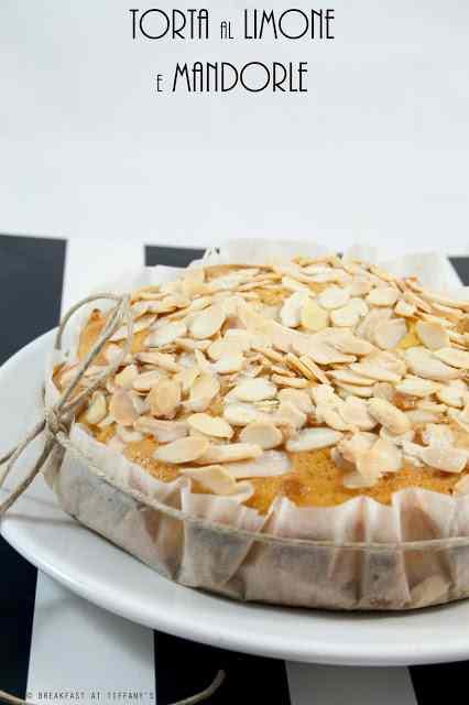 Ricetta: Torta al limone e mandorle / lemon  almonds cake recipe
