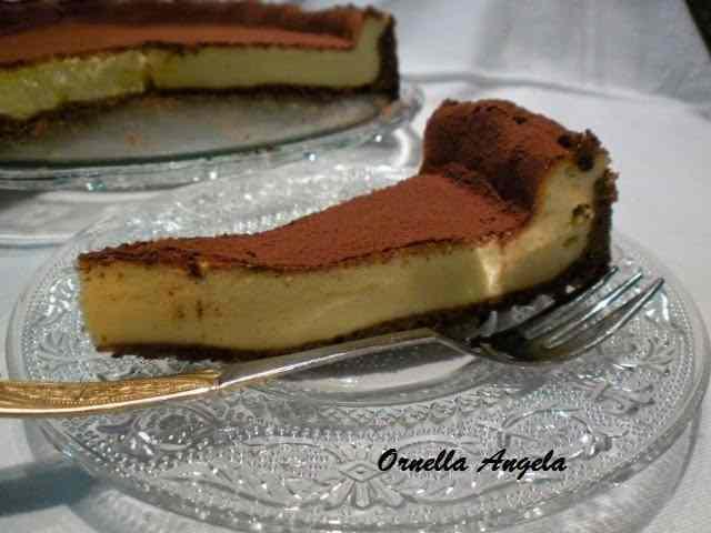 Cheese cake al tiramisù