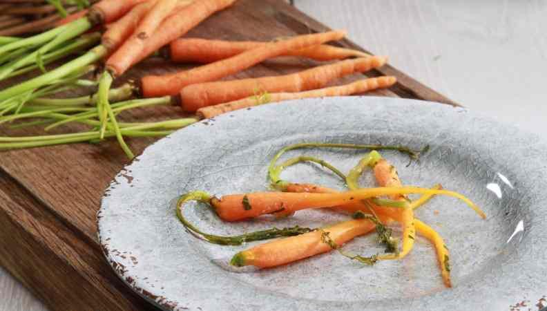 Ricetta: Carote in salsa di capperi di salina