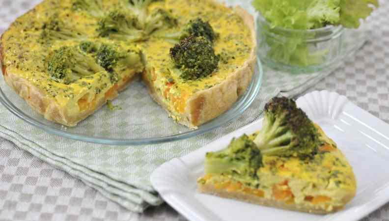 Ricetta: Quiche di carote e broccoletti: una ricetta facile facile!