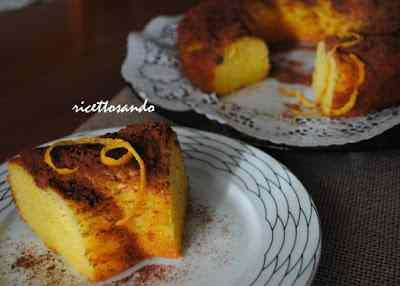 Ricetta: Ciambella all\'arancia