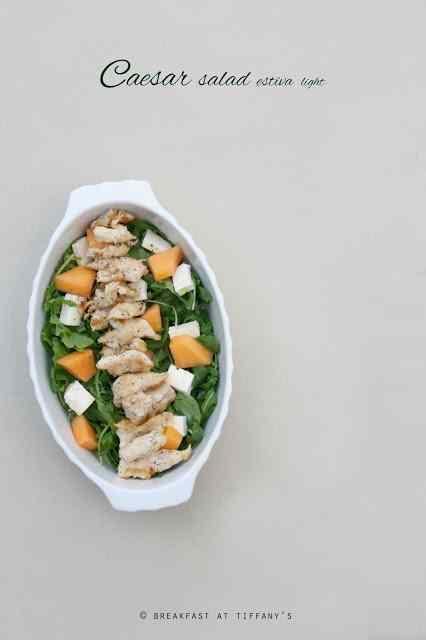 Ricetta: Caesar salad estiva light / summer light chicken caesar salad