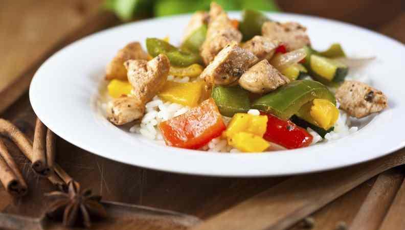 Ricetta: Pollo con i peperoni