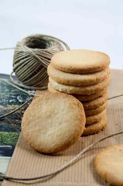 Ricetta: Biscottini di pasta frolla al cocco