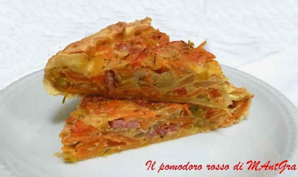 Ricetta: Torta salata agli ortaggi