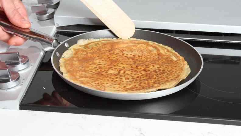 Ricetta: Crepes di miglio, quinoa, castagne, ceci, riso