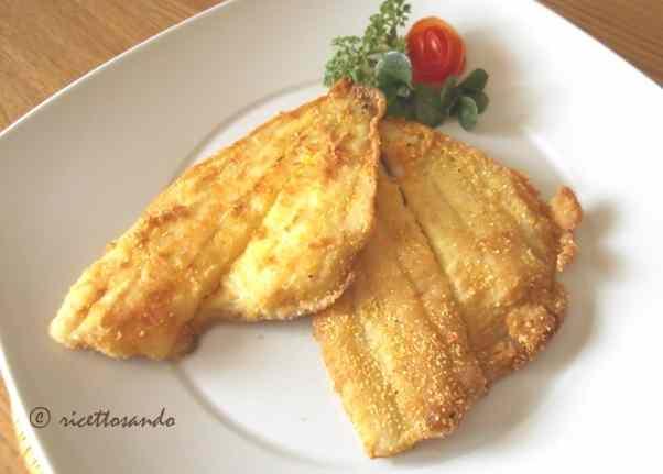 Ricetta: Filetti di pesce alla mugnaia