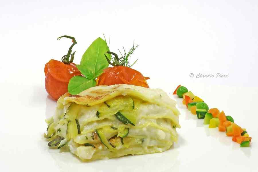 Ricetta: Lasagne con pescatrice e zucchini