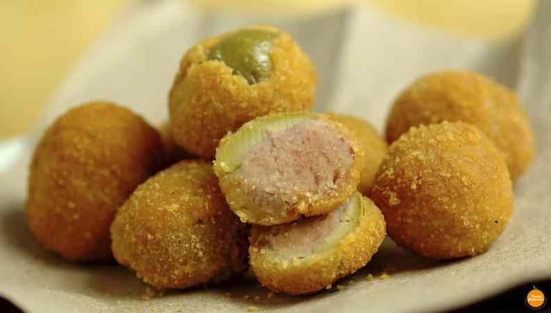 Ricetta: Olive ascolane: il contorno appetitoso dal ripieno goloso