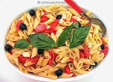Ricetta: Pasta Tricolore