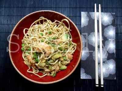 Ricetta: Mexchico- noodles cinesi contaminati da sapori messicani