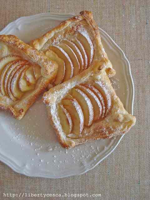 Sfoglia di mele sottile / thin apple puffs