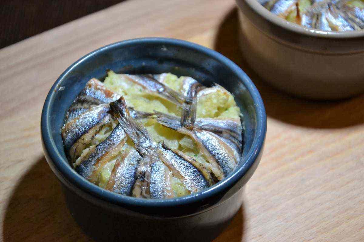 Tortino alici e patate