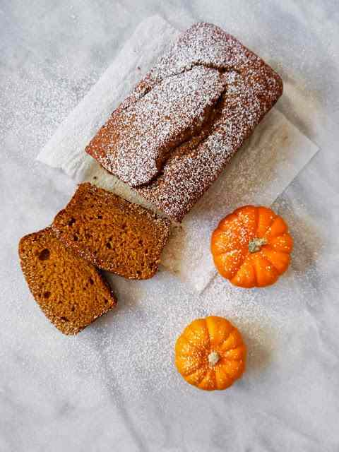 Plum-cake alla zucca / pumpkin plum-cake